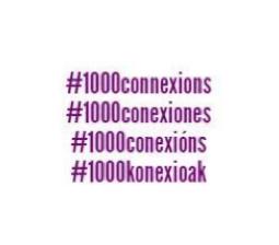Ja Som 1000 Connexions!