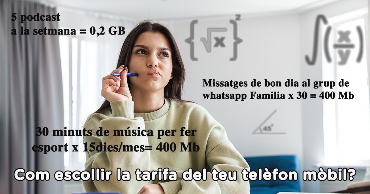 Quina Tarifa D'internet Al Mòbil Triar?