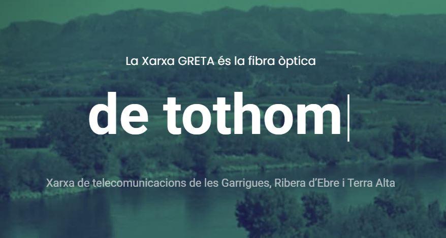 Primer Projecte De Sobirania Per Desplegar Fibra òptica De Comuns: La Xarxa GRETA!
